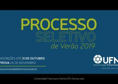 Universidade Franciscana / Vestibular de Verão 2019