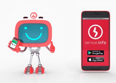 Servcel / App